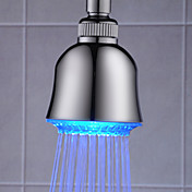 3 inch ABS Shower Head with Color Changing LED Light