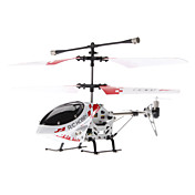 Palm Size 3,5-Channel Gyro fjernbetjening helikopter med lys (assorterede farver, Model: 323B)