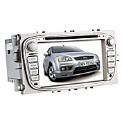 7 tommers bil dvd spiller for ford med gps, bluetooth, ipod, tv