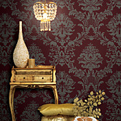 Retro Damask PVC Wall Paper 1301-0029