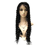 Full Lace 28 Inch Deep Wave 100% Brazilian Hair Wigs