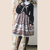 Long Sleeve Velvet Princess Lolita Coat(4 Colors)