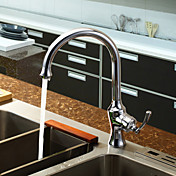 Sprinkle® by Lightinthebox - Chrome Finish Brass Centerset Single Handle Kitchen Faucet