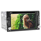 6.2 Inch 2 DIN Car DVD Player with GPS,TV,iPod,Bluetooth