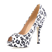 Suede Stiletto Heel Peep Toe Sandals / Pumps Party / Evening Shoes