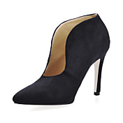 Gorgeous Suede Stiletto Heel Ankle Boots Party / Evening Shoes
