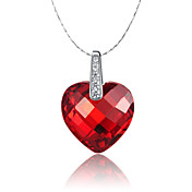 Stylish 925 Silver With Cubic Zirconia Women's Necklace