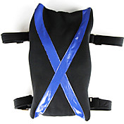 Hearts Sora's Legging Bag Inspired by Kingdom (Black and Blue)