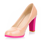 Elegant Patent Leather Chunky Heel Pumps Party / Evening Shoes (More Colors)
