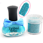 UV Color Caviar Builder and Top Coat Gel Nail Polish No.18-22(12ml,Assorted Colors)