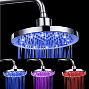 8-inch 12-LED Tête Ronde de douche plafond (couleurs assorties)