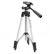 WEIFENG 4-Sec. 3-Way Head Aluminum Legs Built in Level Quick Lever Lock Tripod  MN1381104