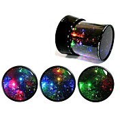 Starry Sky renouvelable LED Lampe / Music Box (Ramdon couleur)