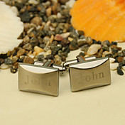 Personalized Slender Cufflinks With Gift Box