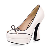 Fabulous Leatherette Chunky Heel Pumps Party / Evening Shoes (More Colors)