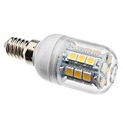 E14 27x5050 SMD 3.5W 300LM 2800-3200K Warm White Light LED Corn Bulb (230V)