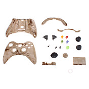 Vervanging Controller Case Shell voor XBOX 360 (Brown Grain Camouflage)