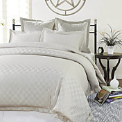 3PCS Ponta Jacquard Twin/Queen/King Duvet Cover Set