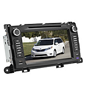 coche reproductor de DVD para toyota sienna 2009-2010 (gps, bluetooth, ipod)