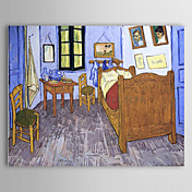 Bermte Oil Painting Arles-vincent-s-bedroom af Van Gogh