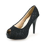 Chic Lace Stiletto Heel Peep Toe Party / Evening / Wedding Shoes (More Colors)