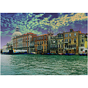 Printed Art Landscape Venice  by John Xiong