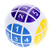 6cm Numerieke Magic Ball Puzzle (White)