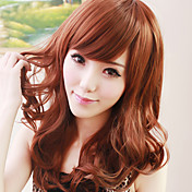 Zipper Nigger-Brown 60cm Sweet Lolita Curly Wig