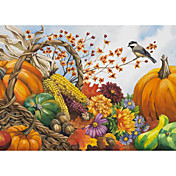 Printed Art Floral Food Autumn Harvest by Nancy Wernersbach