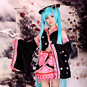 Cosplay Costume Inspired by Vocaloid Sakura Kimono Miku