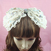 Funny Coffee Cotton Bow Sweet Lolita Headband