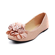 Fashion Leatherette Flat Heel Flats With Flowers Party / Evening Shoes(More Colors)
