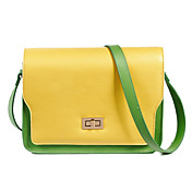 Damesmode Leuke Contrast Color Crossbody Bag