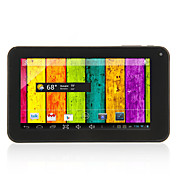 A70 Dual Core - Android 4.2.2 Tablet med 7 tommer kapacitiv touchscreen (4GB/512M RAM/1.5GHz/3G/Dual kamera)