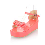 Stylish Patent Leather Platform Heel Sandals With Bowknot/Buckle Party / Evening Shoes (More Colors)