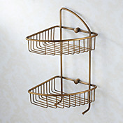 2-Tier Oil Rubbed Bronze Soap Basket
