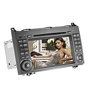 7 tommers bil dvd spiller for Mercedes-Benz (gps, 3G/WiFi, bluetooth, RDS, ipod)