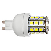 G9 3.5W 30x5050SMD 300-330LM 5500-6000K Natural White Light LED Corn Bulb (110V/220V)