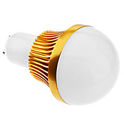 GU10 6W 12x5730SMD 480-540LM 3000-3500K Warm Wit Licht Golden Shell LED Ball Bulb (85-265V)