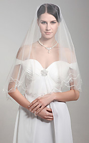 Marvelous 1 Layer Elbow Wedding Veil