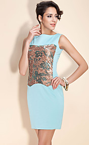 TS Simplicity Sequin Sheath Dress