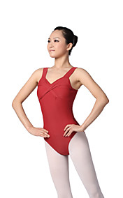 bomull ballett dans tank leotard for damene