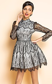 TS VINTAGE Lace Swing Dress