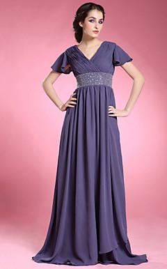 JOVANKA - Vestido de Damas em Chifon e Cetim