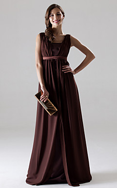 GWYNETH - Vestido de Madrinha e Damas em Chifon