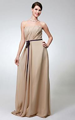 ARIEL - Vestido de Madrinha em Chifon