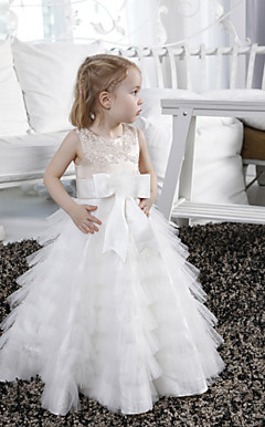 LUANNA - Robe de Communion Satin Tulle
