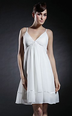 BRYONIA - Robe de Cocktail Mousseline Satin