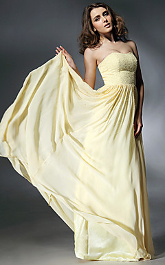 Chiffon A-line Sweetheart Evening Dress inspired by Jennifer Love Hewitt at Emmy Awards
