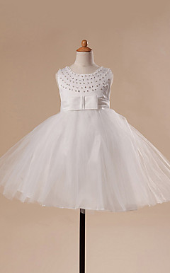 Lovely Ball Gown Tulle Flower Girl Dress